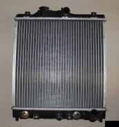 Радиатор охлаждения двигателя. Honda: Civic Ferio, Civic, HR-V, Domani, Partner, Civic CRX, Ballade Двигатели: D15B2, D16A9, D16Y1, F16X4, D16A8, MF61...
