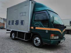 Isuzu Elf. Японской бычек фургон , 1995 г. в., 4 570 куб. см., 3 000 кг.
