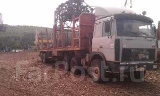 МАЗ 642208-020. Продам сцепку МАЗ + п/п сортиментовоз, 14 860 куб. см., 15 000 кг.
