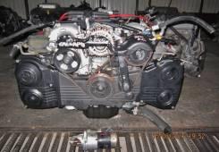 Двигатель в сборе. Subaru Outback Subaru Forester, SG5, SG9, SG9L Двигатели: EJ25, EJ254, EJ251