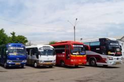 Аренда автобусов по городу и краю (с экипажем). С водителем