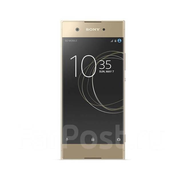 Sony Xperia XA1. Новый, 32 Гб, Желтый, Золотой, 4G LTE