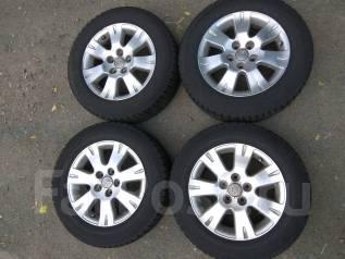 Комплект колёс 205/65/16 всесезонный, резина + диски. 6.5x16 5x114.30 ET39 ЦО 60,0мм.