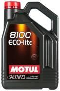 Motul 8100 Eco-Lite. Вязкость 0W-20