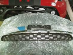 Накладка на бампер. Nissan Leaf