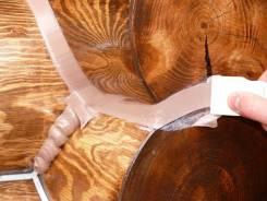 Герметик Wepost Wood для герметизации швов деревянного дома. Под заказ