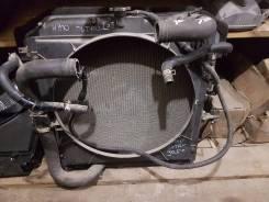 Радиатор охлаждения двигателя. Toyota ToyoAce, XZU402, XZU401, XZU412, XZU411, XZU400, XZU421, XZU410, XZU420, XZU430 Toyota Dyna, XZU410, XZU421, XZU...