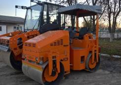 Завод ДМ DM-03-VD. Каток тротуарный двухвальцовый DM-03 VD (масса 3 т., шир. вальца 1,2 м