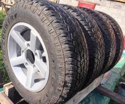 Комплект колес на Шевроле НИВА Toyo Open Country 205/70 R15 на дисках. 6.5x15 5x139.70 ET40 ЦО 98,0мм.