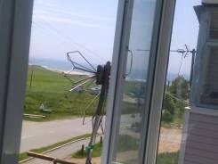 1-комнатная, улица Победы (пос. Южно-Морской) 7. п. Южно-Морской, 30 кв.м. Вид из окна днем