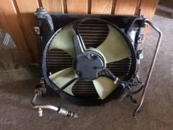 Радиатор кондиционера. Honda Logo, GA3