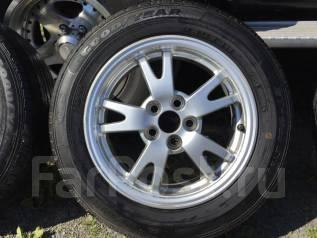 Комплект колёс Good Year 185/65R15, износ 5% на литье Toyota. x15 5x100.00
