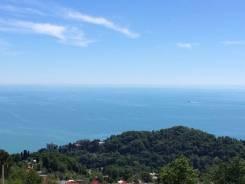 Участок с видом на море. 1 000 кв.м., собственность, электричество, вода, от агентства недвижимости (посредник)