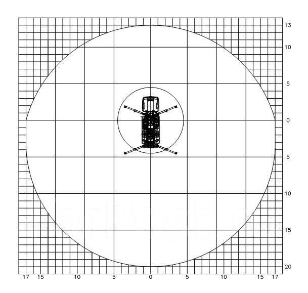 КамАЗ 43118 Сайгак. Novas-350 (36м) на шасси Камаз-43118 6x6 в Нижнем Новгороде, 11 760 куб. см., 36 м.