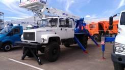 Випо-18-01. Автогидроподъемник ВИПО-18-01 на шасси ГАЗ-33081/33088 (4х4) (5м. каб), 7 850 куб. см., 18 м.