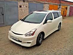 Дефлектор капота. Toyota Wish, ANE11, ZNE10, ANE10, ZNE14, ZNE14G, ZNE10G, ANE10G, ANE11W