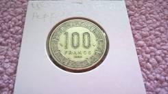 Нечастые 100 Франков 1998 года Центральная Африка