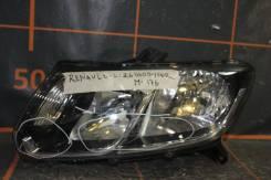 Фара. Renault Logan, L8 Renault Sandero, 5S Двигатели: H4M, K7M, K4M, D4F