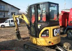 Caterpillar 303.5D CR. Мини-экскаватор Caterpillar 303 CR, 2 500 куб. см., 4,00 куб. м.