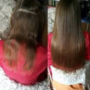 Ультразвуковое микрокапсульное наращивание волос