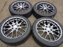 """112225 Тёмный графит Monza Japan R17 +шины 215/45 Goublestar. 7.0x17"""" 5x114.30 ET38"""