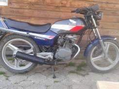 Honda. 124 куб. см., исправен, птс, с пробегом
