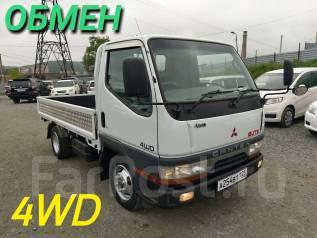 Mitsubishi Canter. 1997 4WD (возможен обмен на легковой авто), 2 800 куб. см., 2 000 кг.