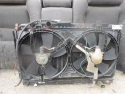 Радиатор охлаждения двигателя. Toyota Cresta, JZX100 Двигатель 1JZGTE