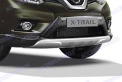 Накладка на бампер. Nissan X-Trail, HT32, T32, HNT32, NT32