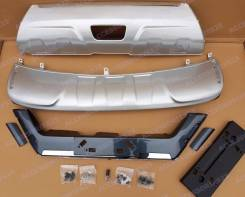 Защита бампера. Nissan X-Trail, HT32, T32, NT32, HNT32