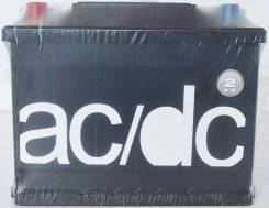 AC/DC. 60 А.ч., правое крепление, производство Россия