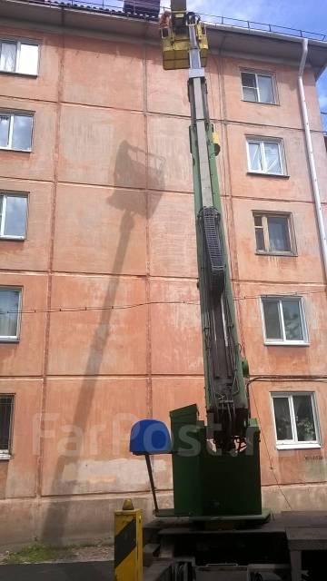 Isuzu Elf. Автовышка аичи ск200, 4 300 куб. см., 21 м.