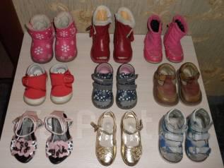 Обувь на девочку до полутора лет