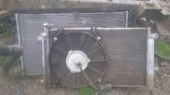 Вентилятор радиатора кондиционера. Лада Приора