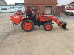 Kubota. Мини трактор L2201 Front Loader КУН производства Япония, фреза, 1 200 куб. см. Под заказ