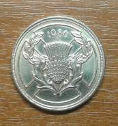Великобритания (Англия) 2 фунта 1986 XIII Commonwealth Games Scotlan