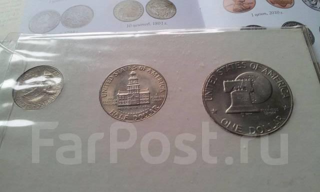 Монеты 200 лет америке 2 лепта