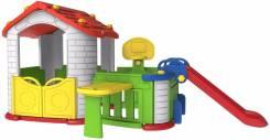 Детский домик с полисадником горкой и столиком. Под заказ