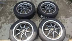 Black Racing. 6.5x15, 4x100.00, ET38