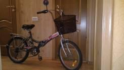Складной велосипед 20 дюймов отличное состояние