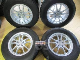 Отличные зимние колеса Bridgestone Blizzak DM-V1 215/70R16. 2013г. в. 6.5x16 5x114.30 ET38 ЦО 73,0мм.