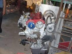 Двигатель в сборе. Toyota Corolla Levin, AE92 Двигатель 4AGE