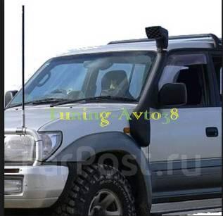 Шноркель. Toyota Land Cruiser Prado Двигатель 1KZTE