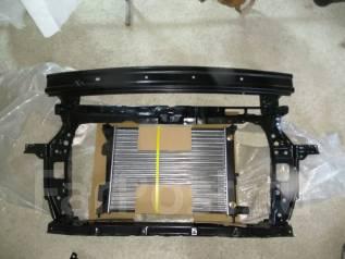 Радиатор охлаждения двигателя. Hyundai Solaris Hyundai 100D-7