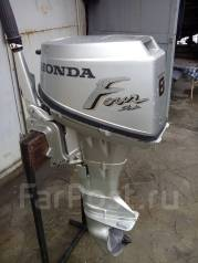 Honda. 8,00л.с., 4х тактный, бензин, нога S (381 мм), Год: 1998 год