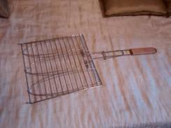 Решетка гриль для мяса и рыбы