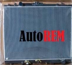 Радиатор охлаждения двигателя. Mitsubishi Challenger, K97WG Mitsubishi Montero Двигатель 4M40