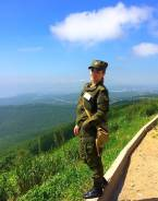 Военнослужащий по контракту. Высшее образование, опыт работы 3 года