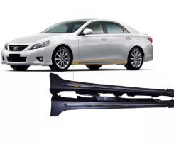 Порог пластиковый. Toyota Mark X, GRX133, GRX130, GRX135. Под заказ