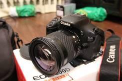 Canon EOS 600D. 15 - 19.9 Мп, зум: 4х